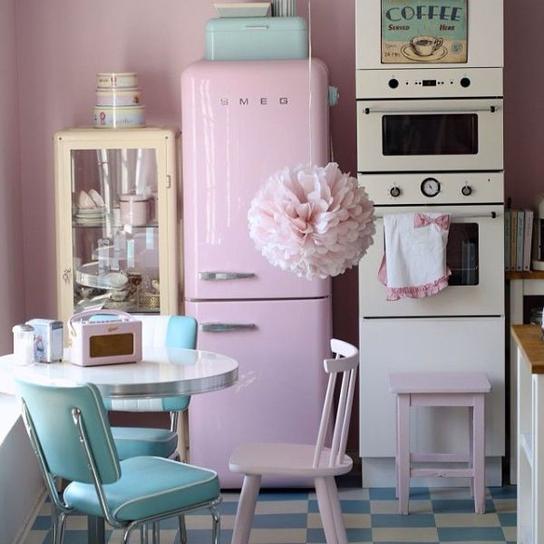 cute retro kitchen Cute Pastel Retro Kitchen Pictures, Photos, and Images for