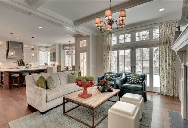 Beautiful Kitchen Design And Family Room Floor Plans Layout Pictures Photos and Images for