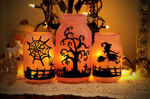 Halloween Mason Jars Pictures Photos and Images for