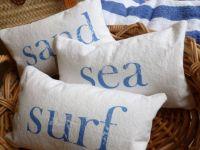 Beach Pillow Set Of Three Throw Pillows Pictures, Photos ...