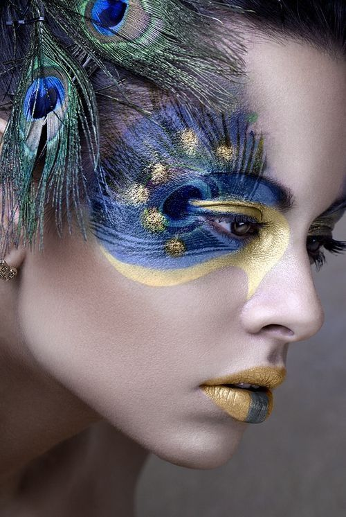 Peacock Eyeshadow Pictures Photos and Images for Facebook Tumblr Pinterest and Twitter