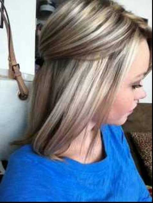 blonde hair with lowlights blend