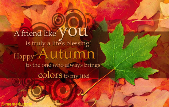 Fall Blessings Wallpaper Happy Autumn Friend Pictures Photos And Images For