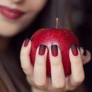 red matte gradient halloween
