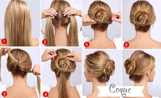 Quick Bun Hairstyles For Medium Hair Easy Casual Hairstyles For