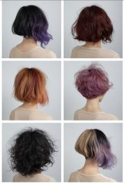 short pretty ombre hairstyles