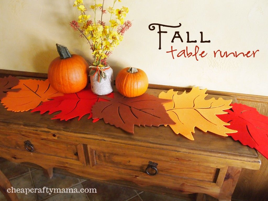 Fall Table Runner Pictures Photos And Images For