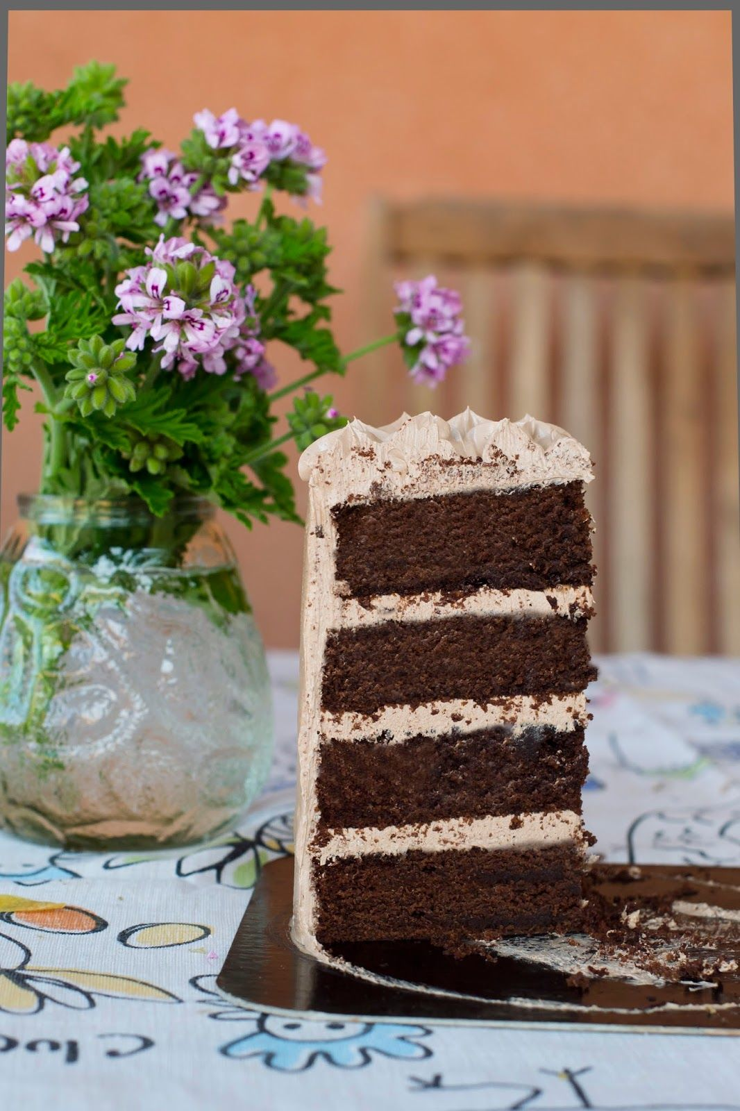 Double Chocolate Layer Cake Pictures Photos And Images