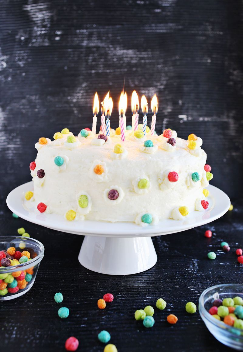 Funfetti Buttermilk Birthday Cake Pictures Photos And
