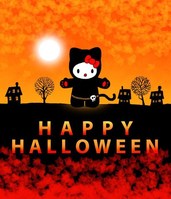 Hello Kitty Happy Halloween