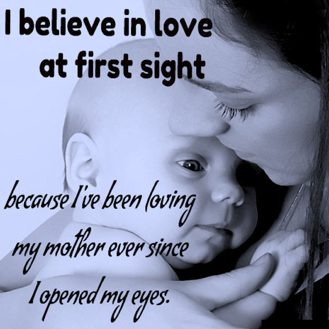 I Have Been Loving My Mother Ever Since I Opened My Eyes