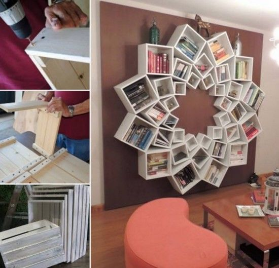 Mandala Bookshelf Pictures Photos and Images for