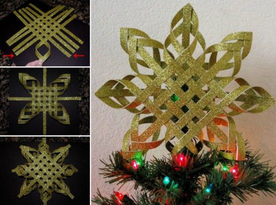 Woven Paper Christmas Star Pictures Photos and Images
