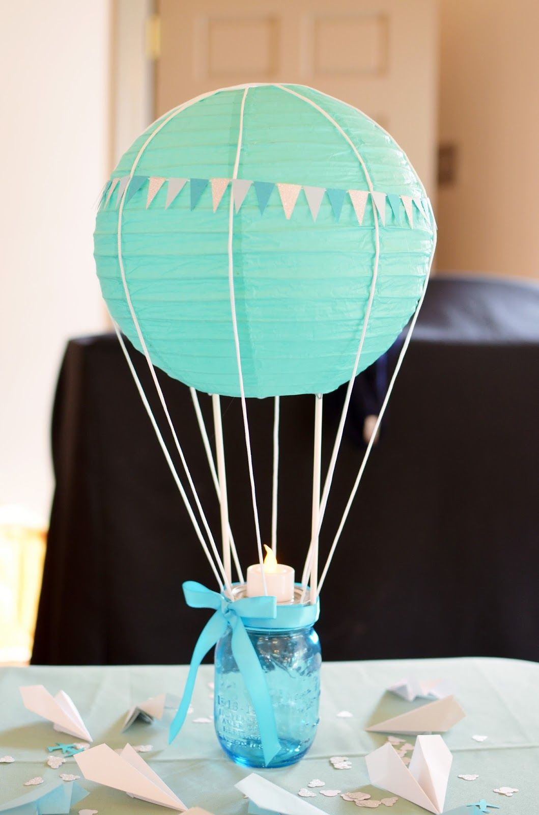 Hot Air Balloon Decoration For Baby Shower Pictures Photos and Images for Facebook Tumblr