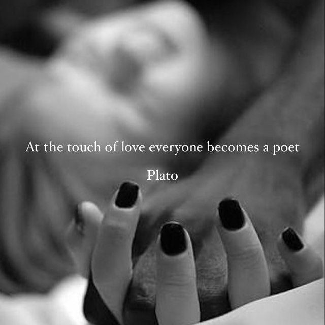At The Touch Of Love Everyone Becomes A Poet Pictures Photos and Images for Facebook Tumblr Pinterest and Twitter