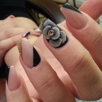 Black Rose Nail Art Pictures, Photos, and Images for ...