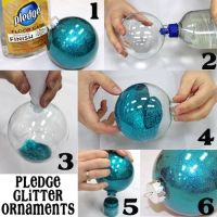 DIY Glitter Pledge Ornament Balls Pictures, Photos, and ...