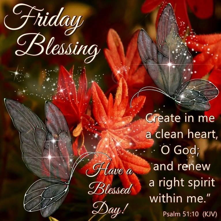 Friday Blessings With Bible Quote Pictures Photos and Images for Facebook Tumblr Pinterest