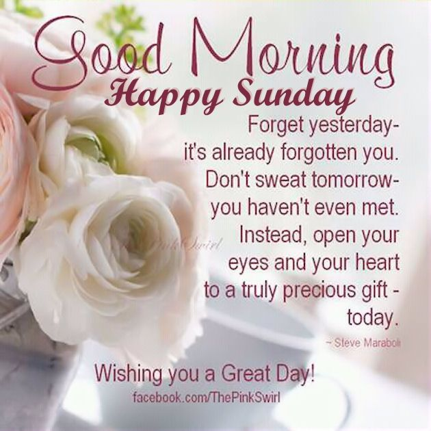 Beautiful Good Morning Happy Sunday Image Pictures, Photos, and Images for Facebook, Tumblr, Pinterest, and Twitter
