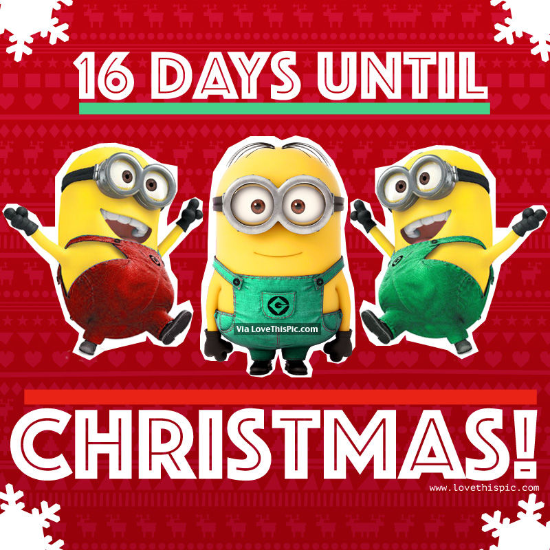 Image result for 16 days until christmas