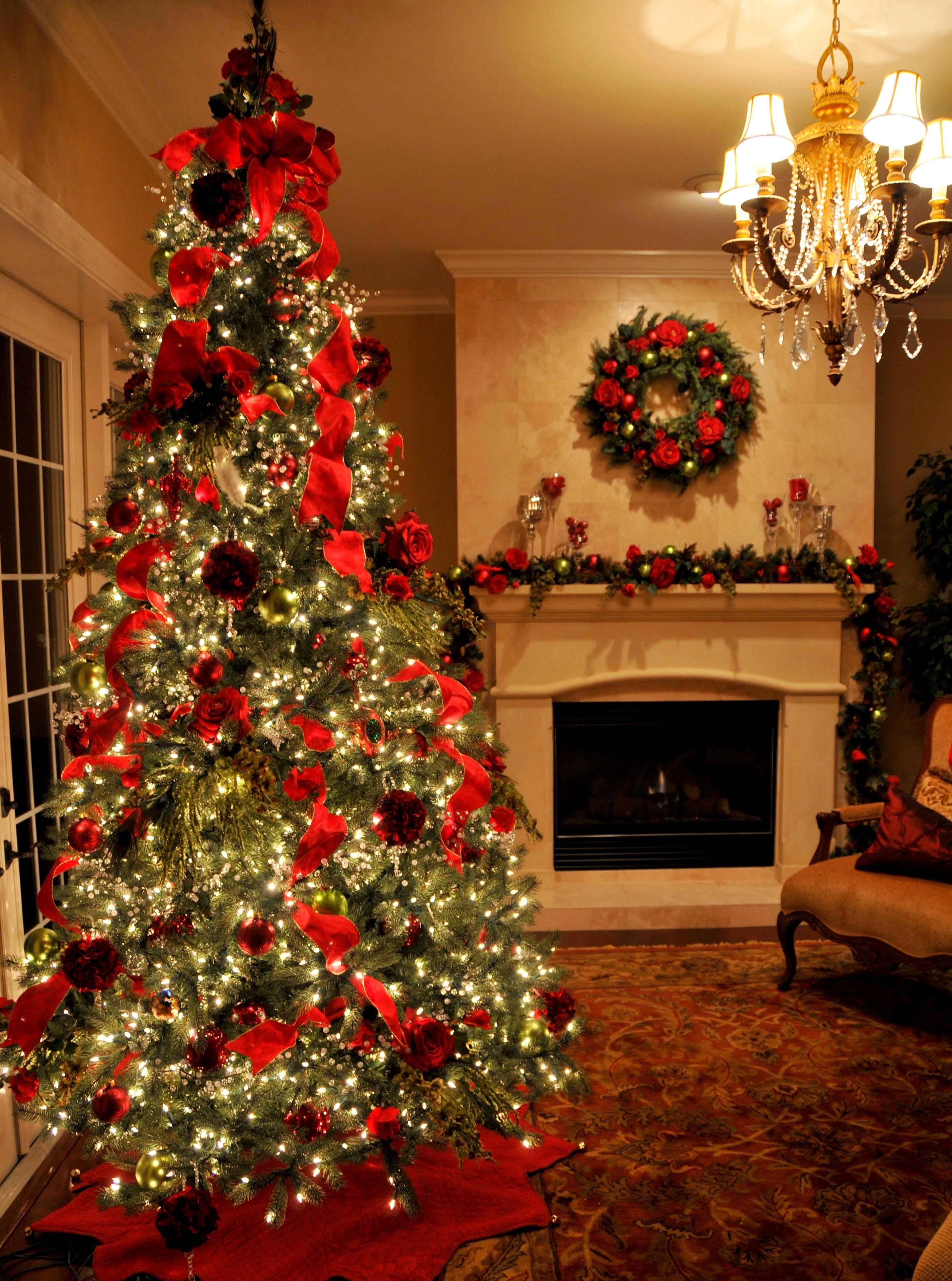 Red Christmas Decorations Pictures Photos and Images for