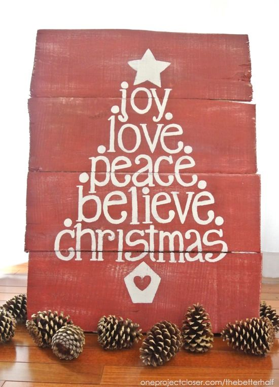 Christmas Love Joy Peace And Hope Facebook Cover