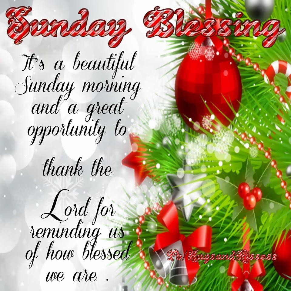 Sunday Morning Blessings
