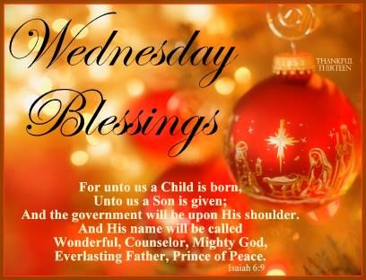Christmas Wednesday Blessings Quotes Pictures Photos And