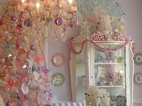 Pink Shabby Chic Christmas Pictures Photos and Images for Facebook Tumblr Pinterest and Twitter