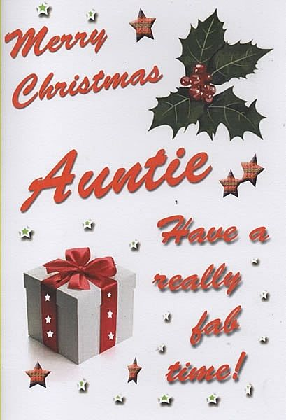 Merry Christmas Auntie Pictures Photos And Images For