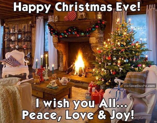 primitive country living room colors decor yellow walls happy christmas eve i wish you peace love and joy pictures ...