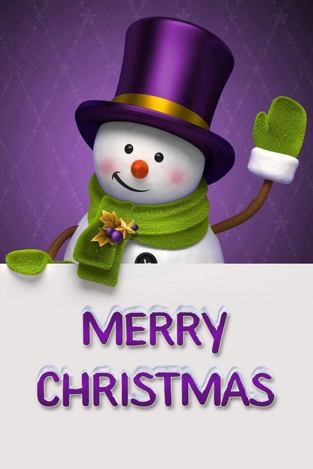 Sweet Small Girl Hd Wallpaper Cute Merry Christmas Snowman Pictures Photos And Images