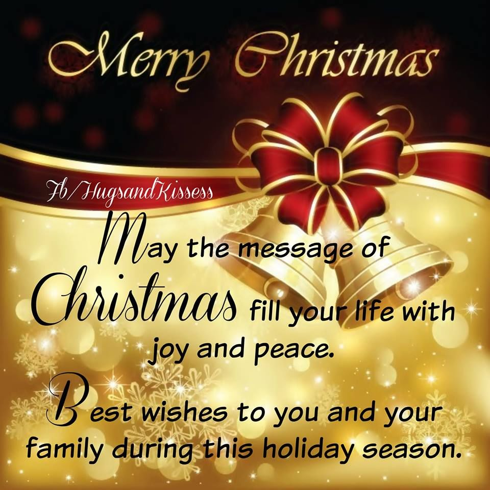 New Merry You Your Family And Wishing Happy And Quotes Christmas Year