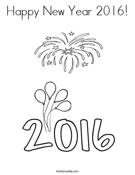 Happy New Year 2016 Drawings Pictures, Photos, and Images
