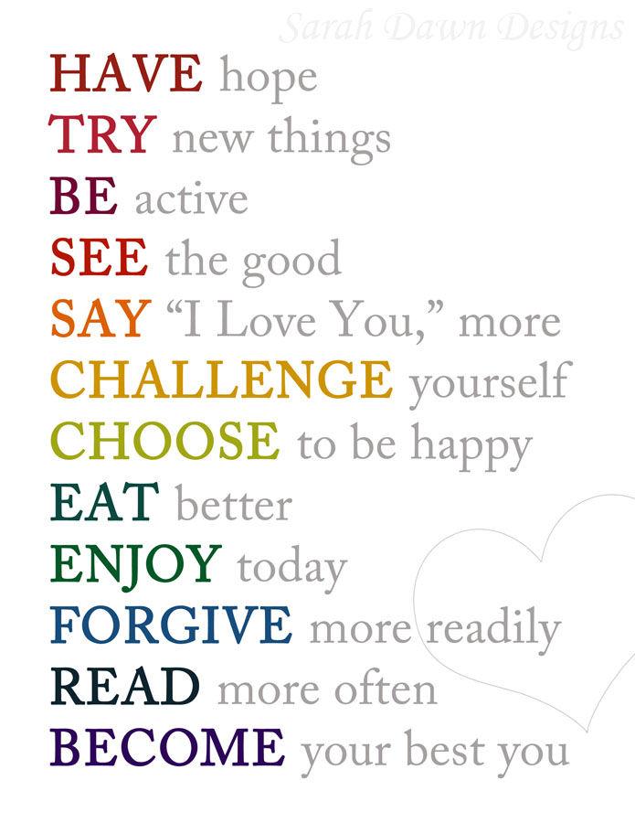 Ideas Self Improvement Month