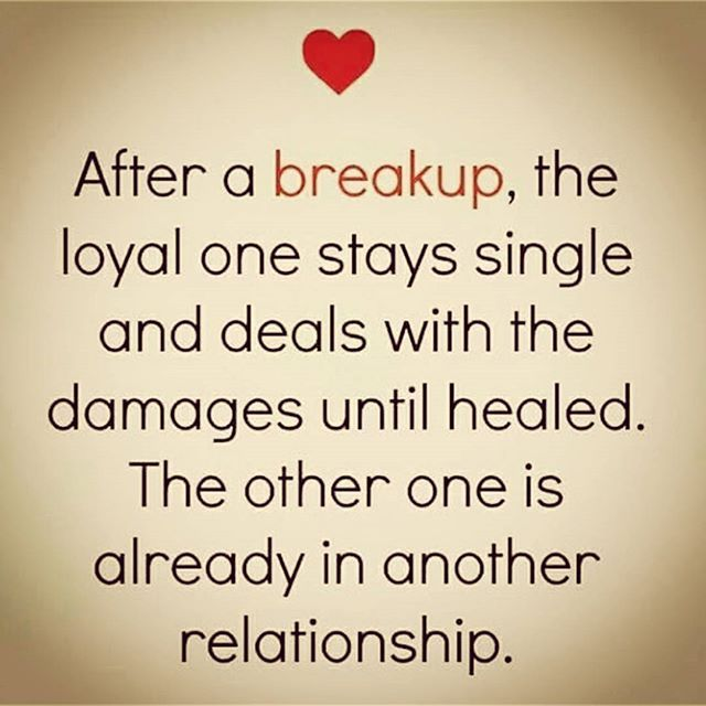after a breakup pictures