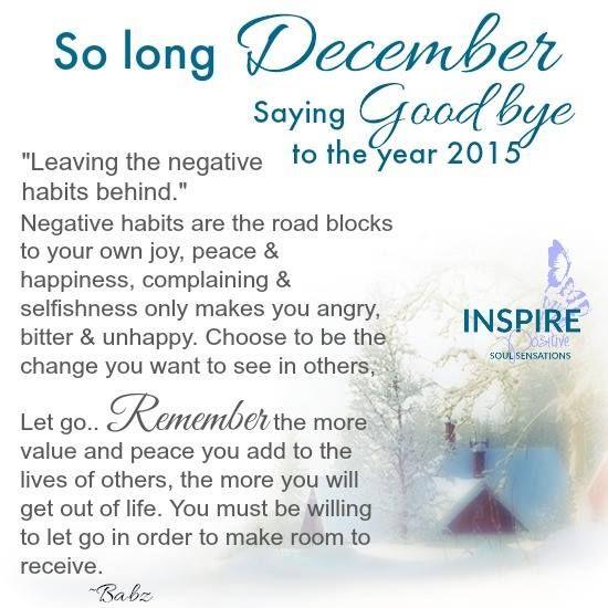 so long december saying