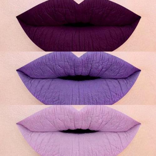 lip tones of purple