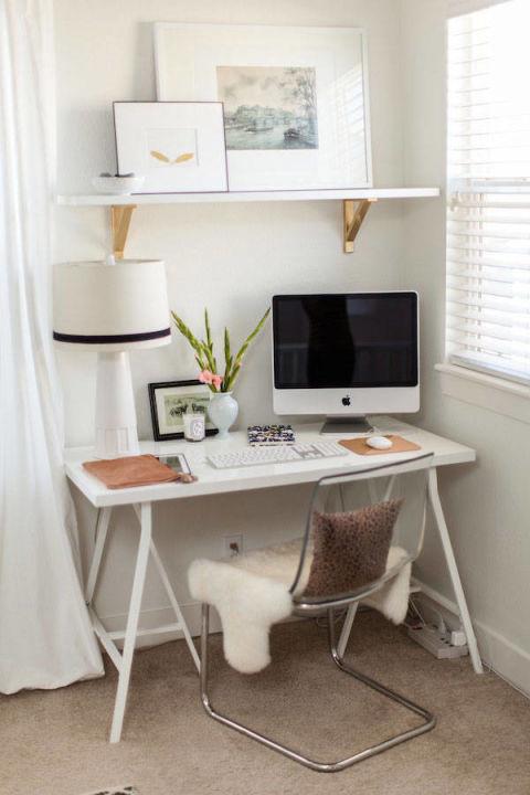 clean white minimalist home
