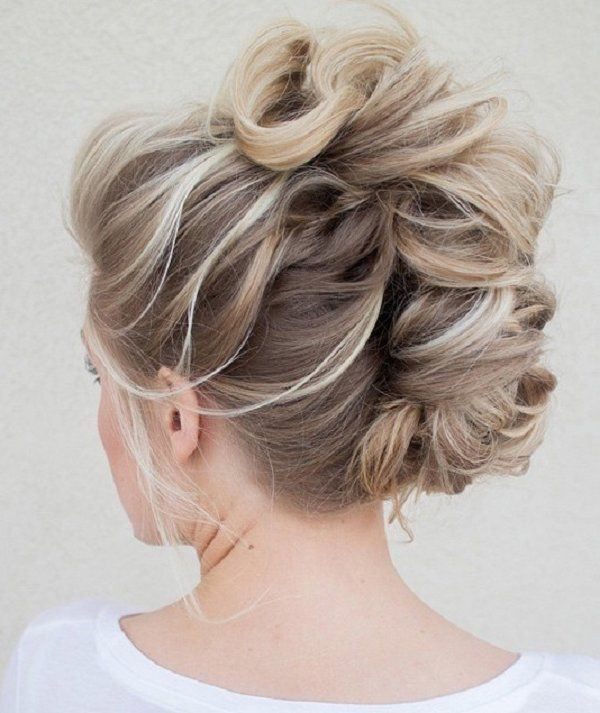 Honey Blonde Braided Updo Pictures Photos and Images for