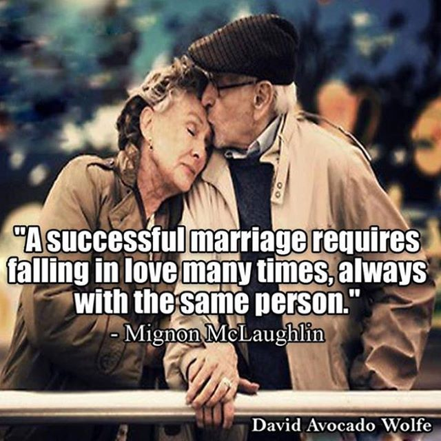 A Successful Relationship Requires Falling In Love Many