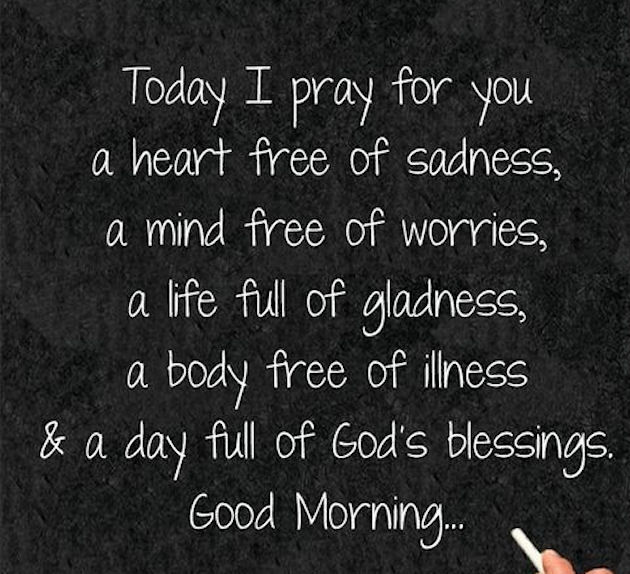 Good Sunday Blessings Prayers Morning And