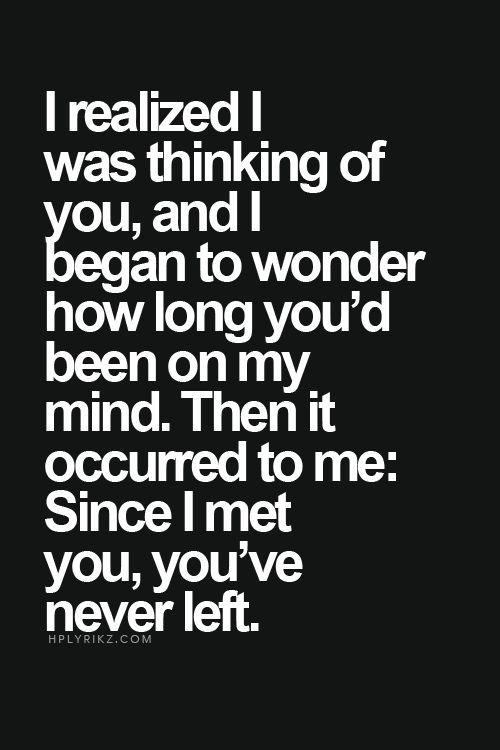 Since I Met You Youve Never Left Pictures Photos and Images for Facebook Tumblr Pinterest