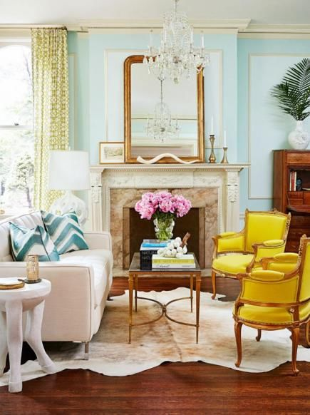 Mix Of Modern And Vintage Living Room Pictures Photos