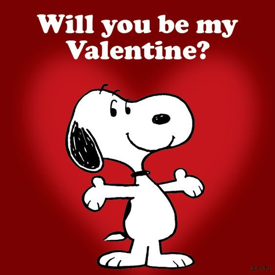Snoopy Will You Be My Valentines Pictures Photos And