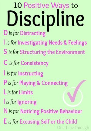10 Positive Ways To Discipline Your Child Pictures Photos