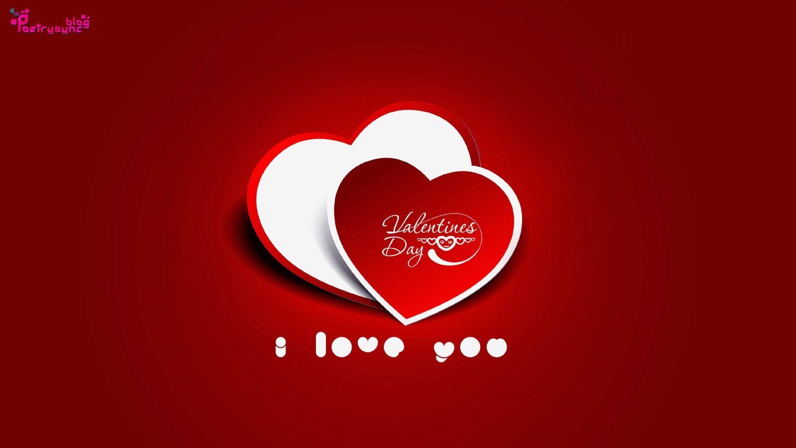 valentines day i love