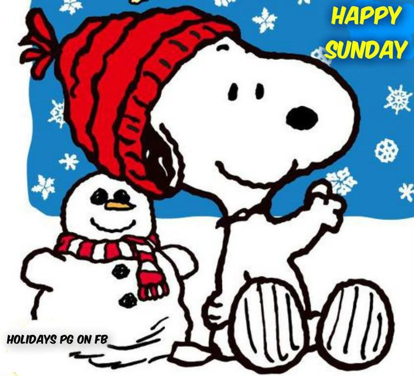 Snoopy WInter Sunday Quote Pictures Photos And Images