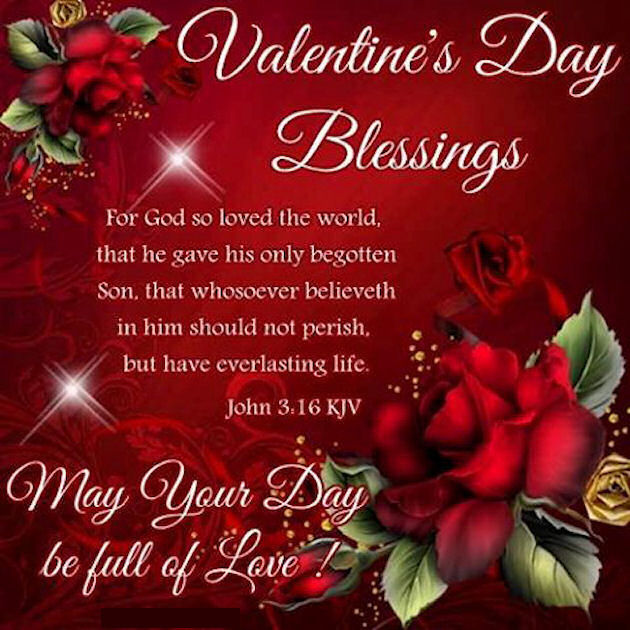 Religious Valentine's Day Blessings Quote Pictures Photos