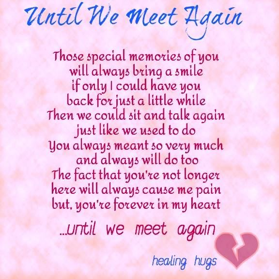 Until We Meet Again Pictures Photos and Images for